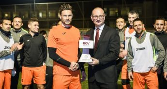 Xewkija Tigers' Dene Shields is BOV GF Player of the Month