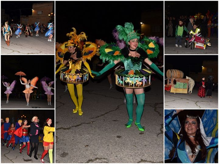 Sannat village enjoys an evening of Organised Carnival events