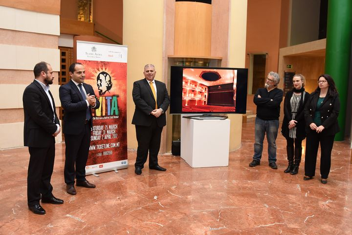 Evita in Gozo launched with additional matinee performance
