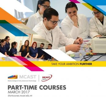 Applications now open for part-time courses at the MCAST Gozo Campus