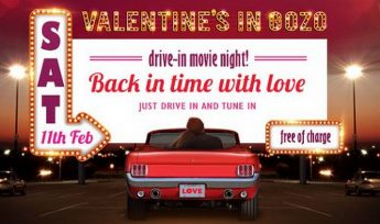 Valentine's in Gozo: Back in time with love - Drive in movie night