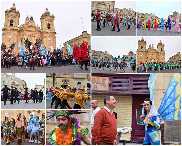 Hundreds of visitors enjoyed Xaghra Carnival programme on Sunday