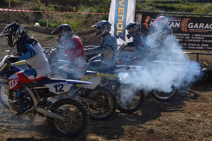 Yamaha Gozo Motocross Championship quarter finals on Sunday