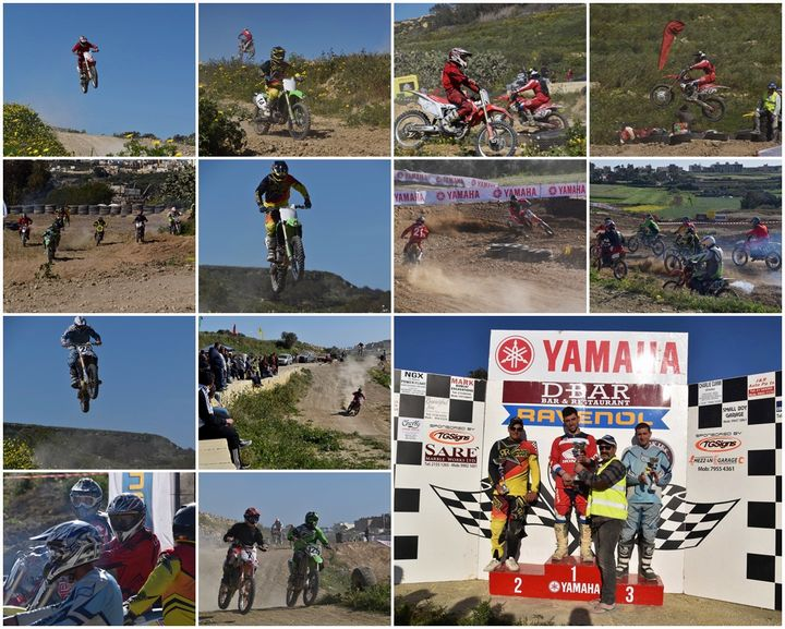 Sunny skies and exciting racing for 5th round of the Motocross Championship