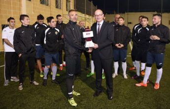 Ghajnsielem's Chris Camilleri is BOV GFA Player of the Month