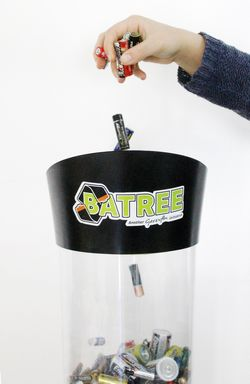 Batree replaces Batterina - New nationwide battery recycle scheme