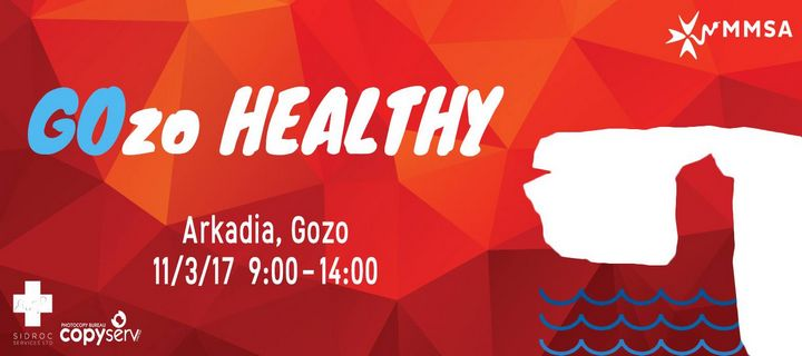 GOzo Healthy! Malta Medical Students Association event at Arkadia