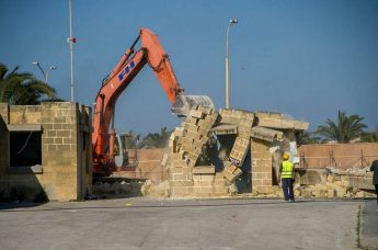 nfrastructural works commence at Gozo General Hospital