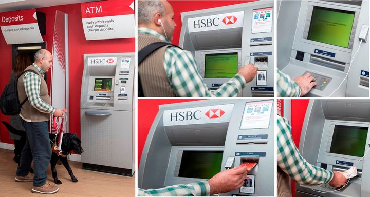 HSBC completes the rollout of Talking ATMs in Gozo & Malta