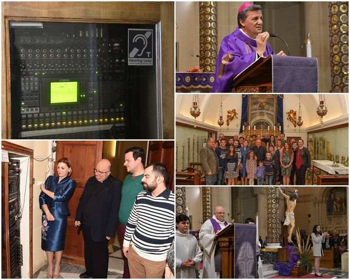 Hearing Loop System inaugurated at the Ta 'Pinu National Shrine