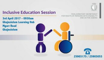 Gozo information session this Monday on Inclusive Education