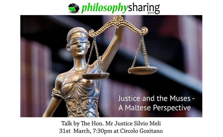Justice and the Muses - A Maltese Perspective: Gozo public talk