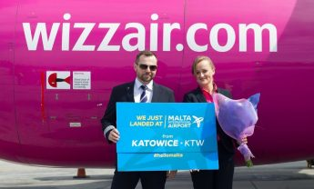 MIA welcomes the first flight from Katowice in Poland