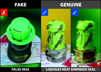 Liquigas urges customers to check cylinders for its branded seal