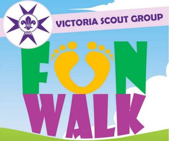 Victoria Scout Group Fun Walk on Sunday in aid of Puttinu Cares