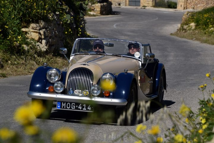 Perfect weather for the Vintage Motors Festival in Gozo