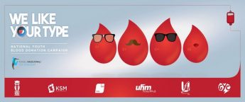 National campaign raising awareness among youths to donate blood