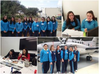Gozo College Year 10 students experience the world of work