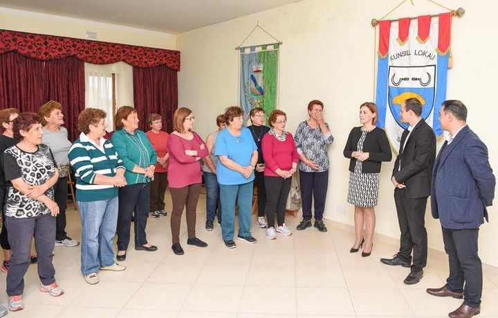 New Active Ageing Centre inaugurated in Sannat, Gozo