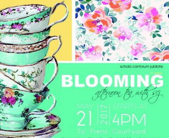 Second edition of Blooming…afternoon tea with SCJ in Gozo