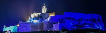 Light it Up in Blue: Cittadella illuminated to highlight autism awareness