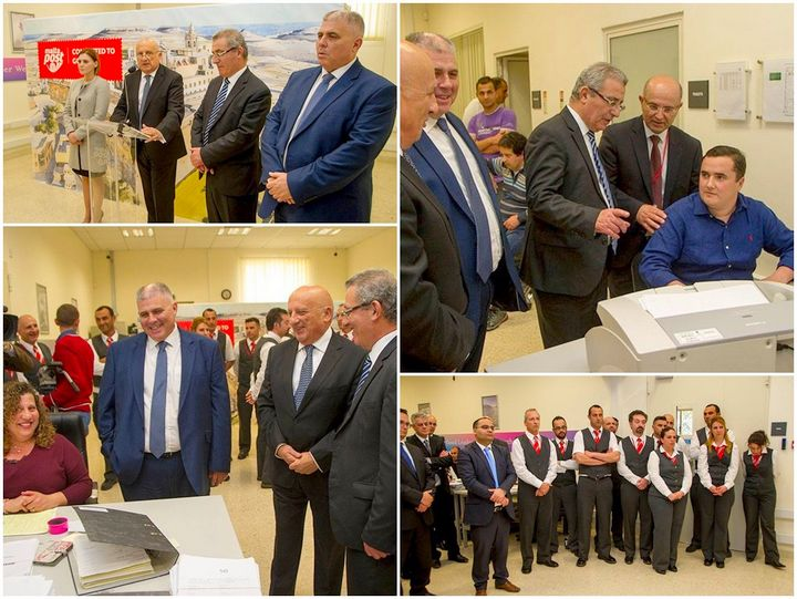 Education Minister visits Xewkija Document Management Centre