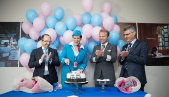 Malta International Airport welcomes Eurowings inaugural flight from Vienna