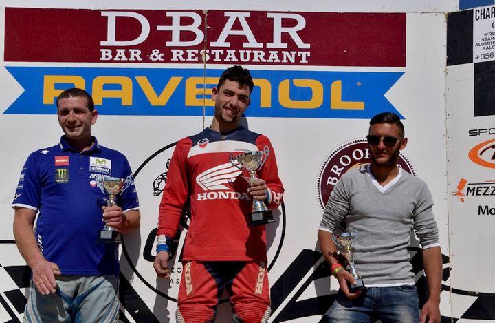 Mario Cauchi wins the Gozo Motocross Championship Semi-Finals