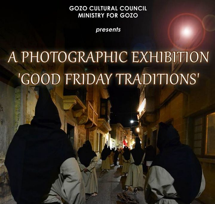 Photographic exhibition on Good Friday traditions in Gozo