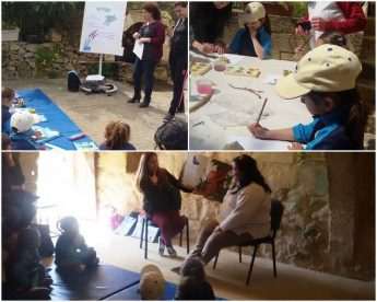 Gozo College event at Lunzjata - The Mathracy Project goes ARTistic