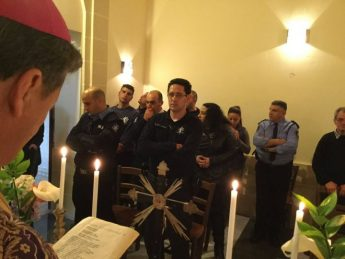 Gozo Bishop leads Mass for Gozo Police on feast of Our Lady of Sorrows