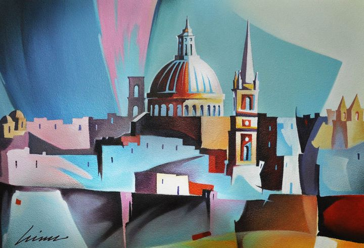 Coordinates: Gozo exhibition of new works by Vince Caruana