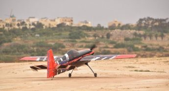 Model aircraft flying displays held at the Gozo Heliport
