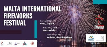 Xaghra fireworks festival map & tickets available for seated area