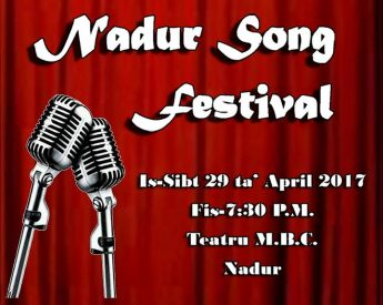 Applications open to participate in this year's Nadur Song Festival