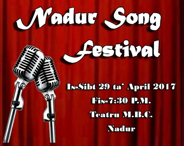 Nadur Song Festival this Saturday at the M.B.C. Theatre