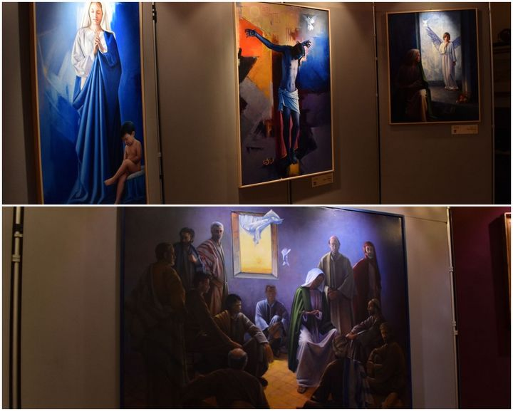 The Holy Journey: Sacred Art exhibition in Gozo by Amedeo Brogli