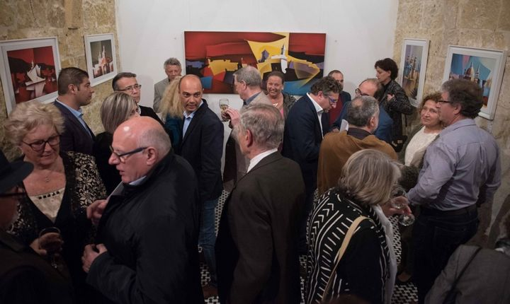 Coordinates: Art exhibition by Vince Caruana opens in Victoria