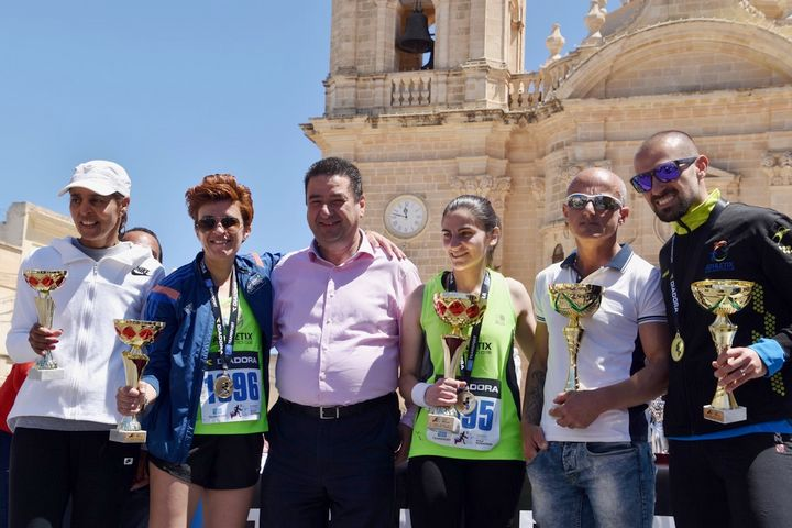 42nd edition of today's Teamsport Gozo Half Marathon hailed a great success