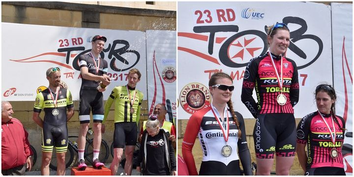 Gozo stage of Tour ta' Malta international cycling race held in Nadur