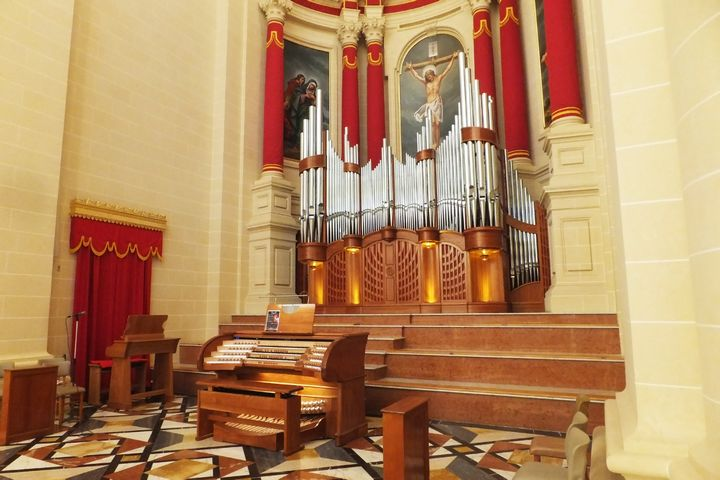 Malta International Organ Festival here in Gozo next week
