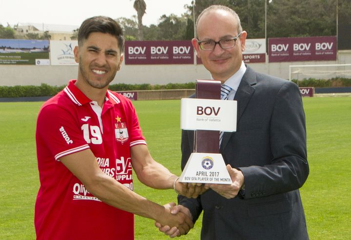 Victoria Hotspurs' Henrique Maciel is BOV GFA Player of the Month