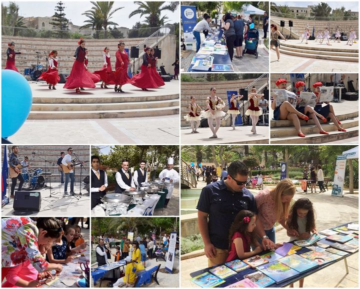 Celebrate Europe Day at the Villa Rundle Gardens in Gozo