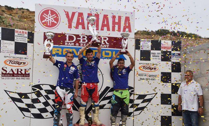 Mario Cauchi crowned overall champion of Gozo Motocross Championship