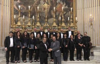 Gaulitanus Choir participates in Rome's Festival di Pasqua