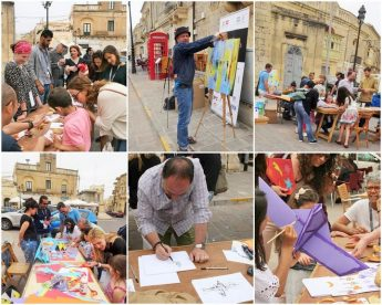 Visitors welcome to United Nation's Art Camp 2017 in Gozo