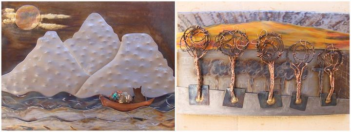 The Nature of Metal - Gozo exhibition opening at Il-Hagar museum