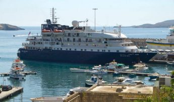 MS Island Sky pays another visit to Gozo as part of cruise itinerary