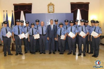 16 Police constables promoted to sergeants in ceremony today