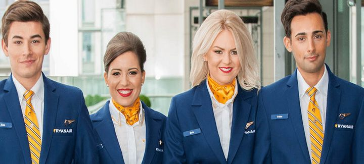 Ryanair cabin recruitment day - 100's of positions available
